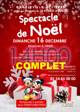 Spectacle du 75 complet